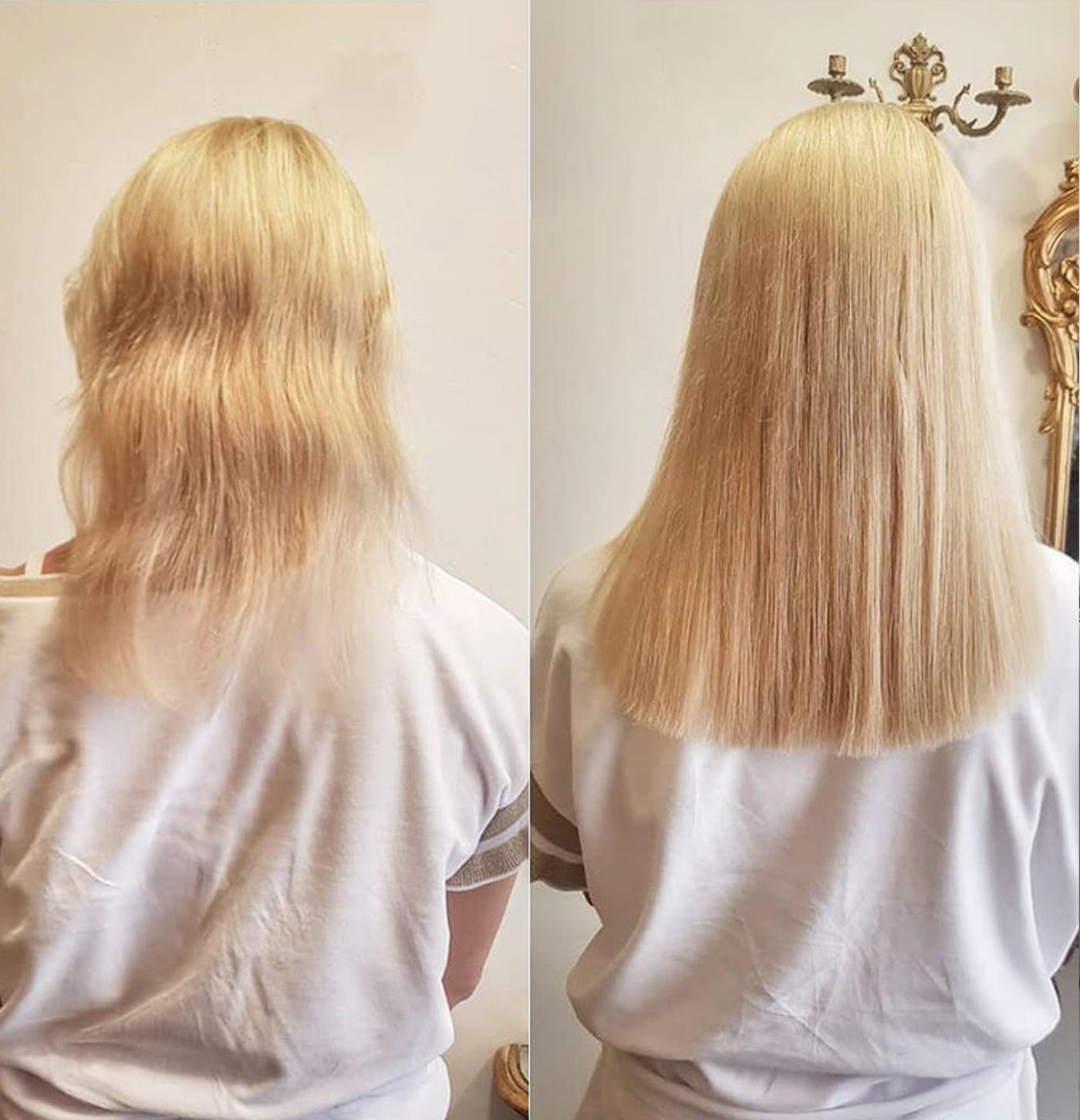 Darbą Atliko – Plaukų Priauginimo Meistrė Lina